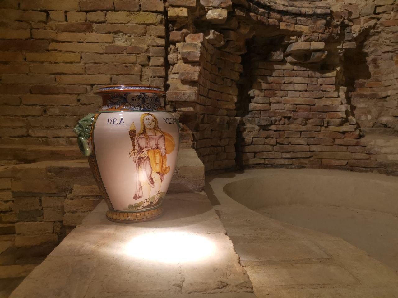 fornace del bono interni ceramiche artistiche penne